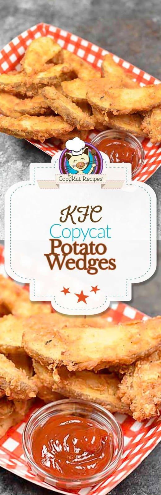 Homemade Copycat KFC Potato Wedges Kfc Fried Potato Wedges