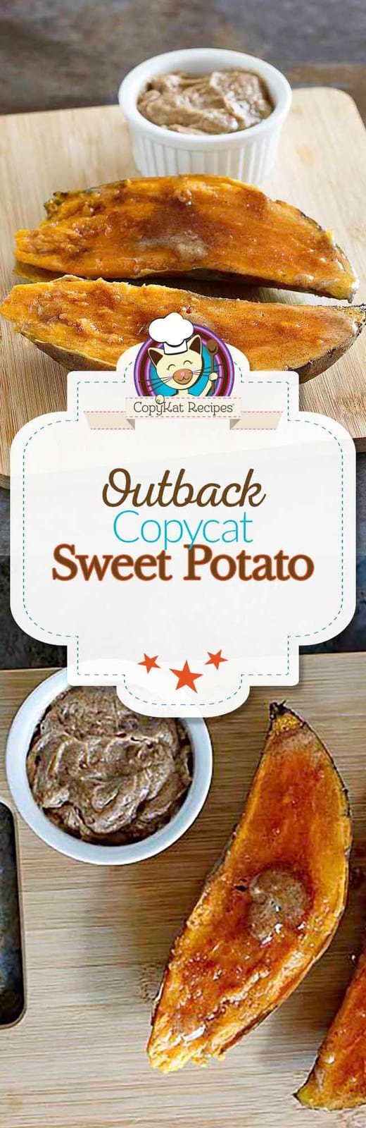 You can recreate the Outback Steakhouse  Baked Sweet Potato at home.  #copycat #sweetpotato #recipe