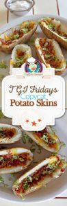 Homemade TGI Friday's Potato Skins photo collage