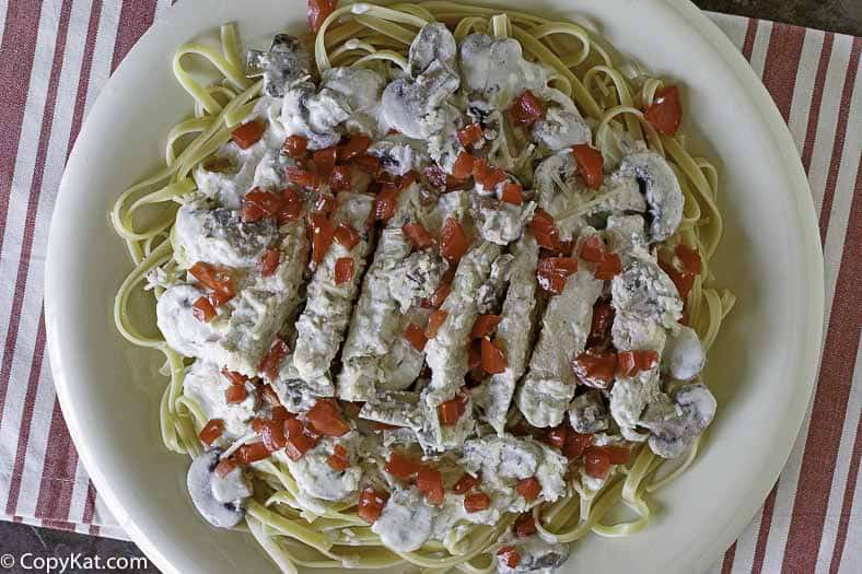 Enjoy Copycat Johnny Carinos Gorgonzola Chicken when you make it at home with this copycat recipe.