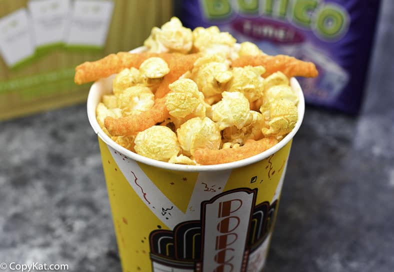 How to Make Cheetos Popcorn.