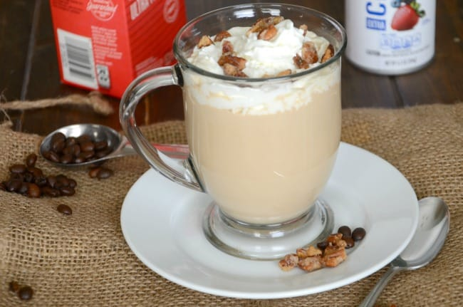 Recreate your own copycat version of the Starbucks Maple Pecan Latte at home.