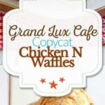 Grand Lux Cafe Chicken N Waffles photo collage