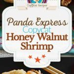 Homemade Panda Express Honey Walnut Shrimp photo collage