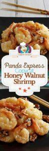 Homemade Panda Express Honey Walnut Shrimp photo collage
