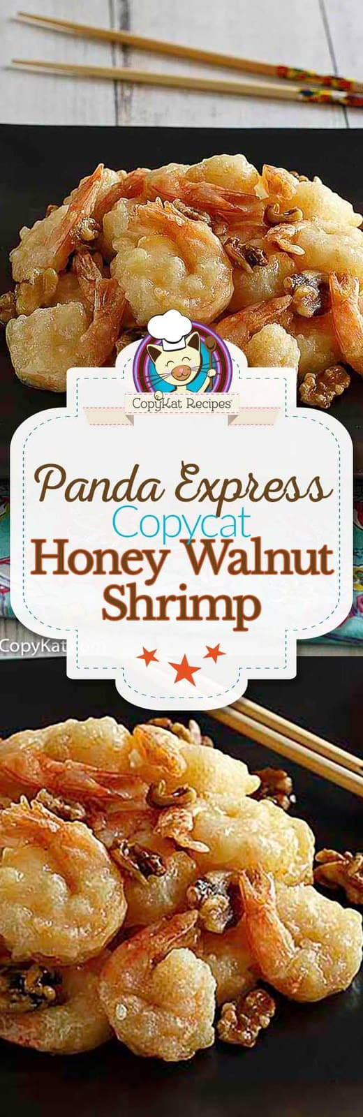 You can recreate the Panda Express Honey Walnut Chicken at home with this easy copycat recipe.  #copycat #copycatrecipe #shrimp #pandaexpress