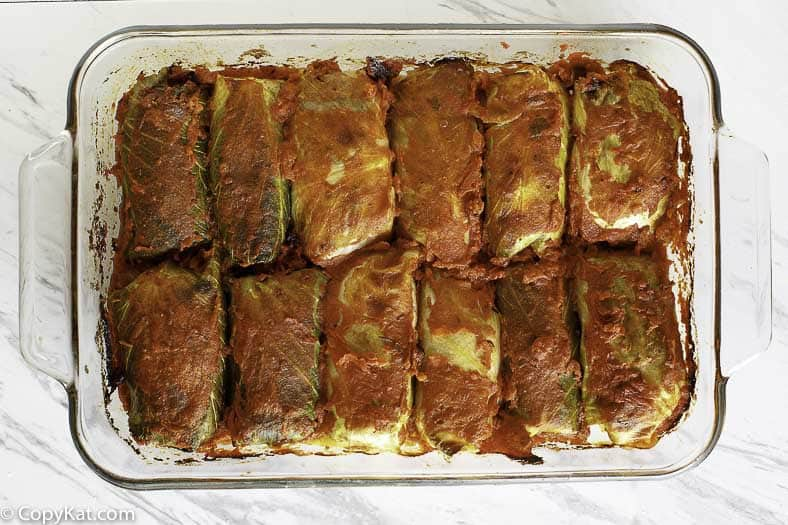 homemade stuffed cabbage rolls