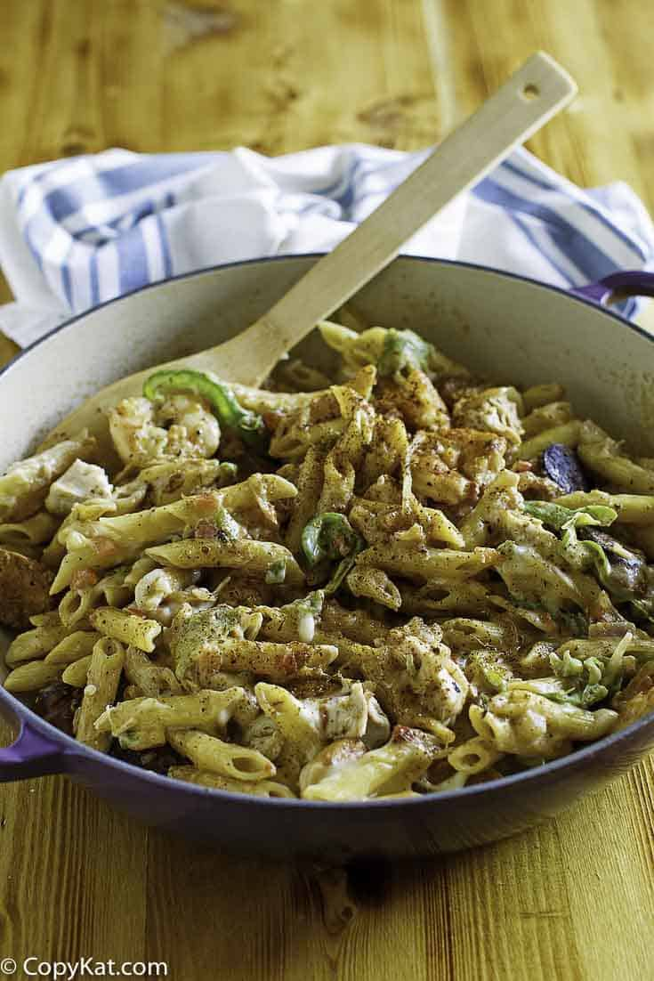 You can recreate Cheddar's New Orleans Style pasta at home.  This Cajun-inspired dish is so hard to resist.