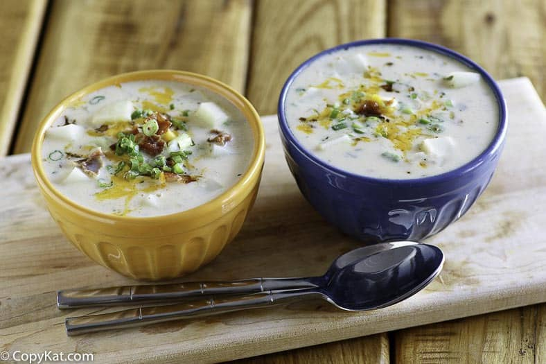 You can make a delicious bowl of Hard Rock Cafe Baked Potato Soup recipe.