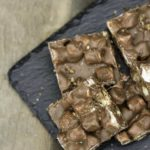 You can easily make Rocky Road candy in no time at all.
