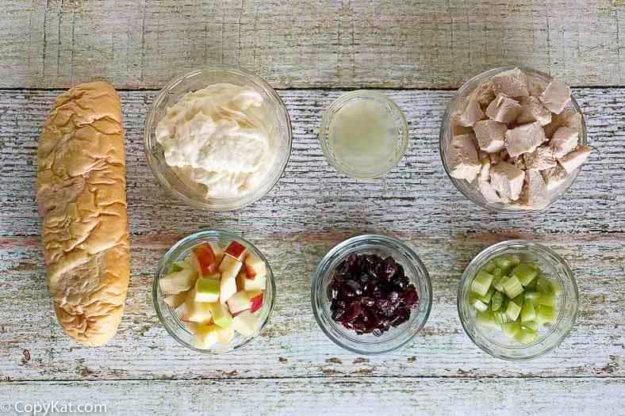 orchard chicken salad ingredients