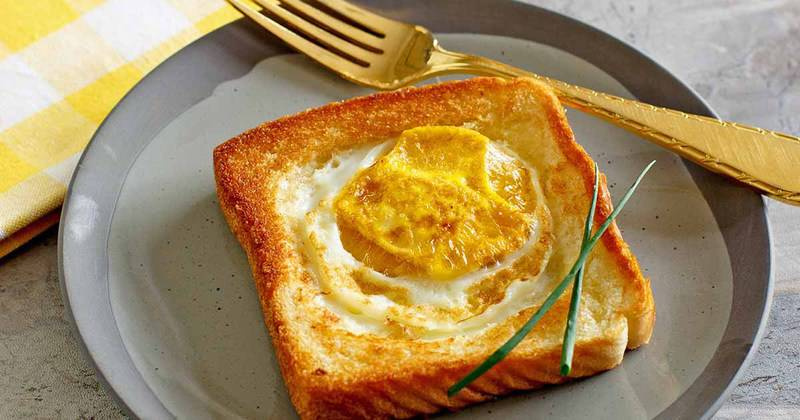 Make your own Cracker Barrel Egg In a Basket at home with this easy copycat recipe.