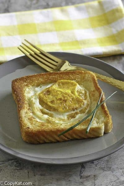 Copycat Cracker Barrel Egg In A Basket is sure to please everyone for breakfast.