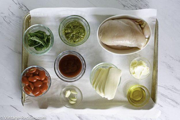 Chicken margarita ingredients