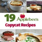 Collage of homemade Copycat Applebees Recipes