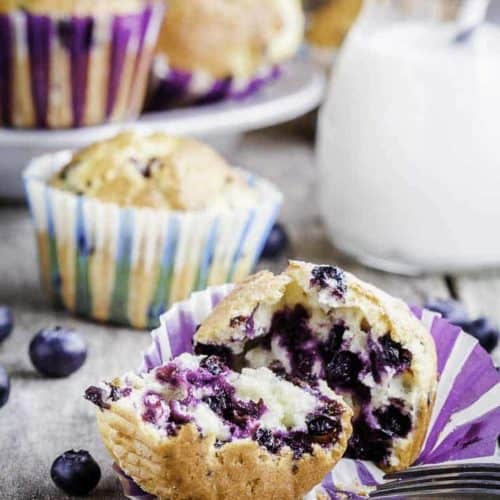 Make Your Own Otis Spunkmeyer Blueberry Muffins At Home Get The