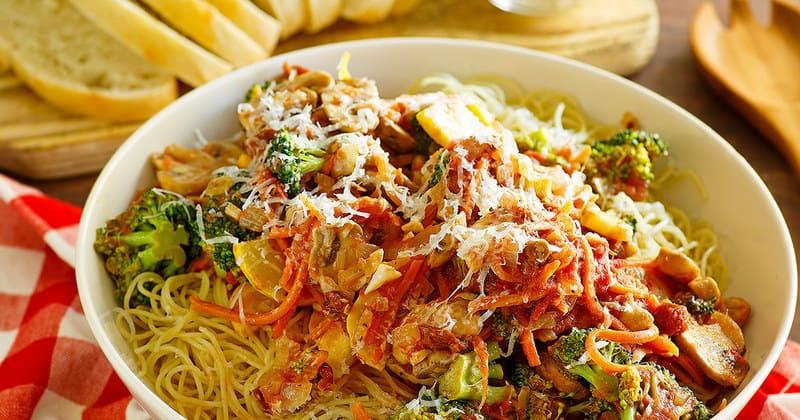 Olive Garden 39 S Capellini Primavera