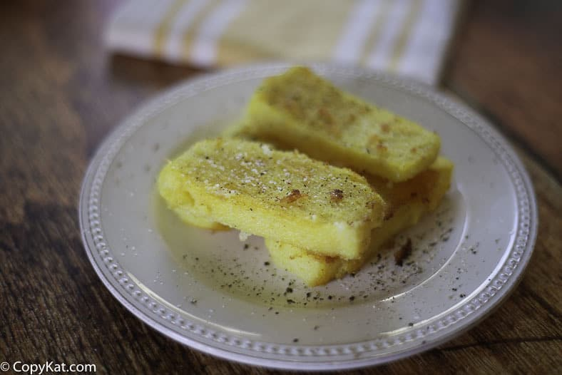 Enjoy this classic Fried Corn Meal Mush, it is a great gluten-free alternative for breakfast.