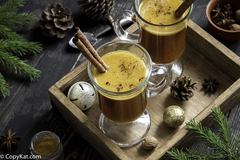 Hot Buttered Rum is the perfect way to celebrate the holidays. #cocktail
