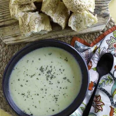 You can make amazing tasting cream of celery soup from scratch. No need to buy cream of celery soup from a can.