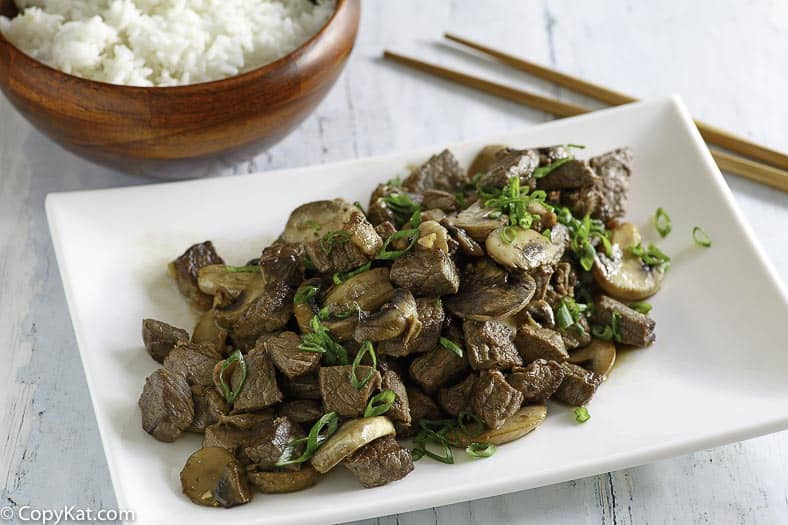 Make the famous Benihana Hibachi Steak at home with his easy copycat recipe.