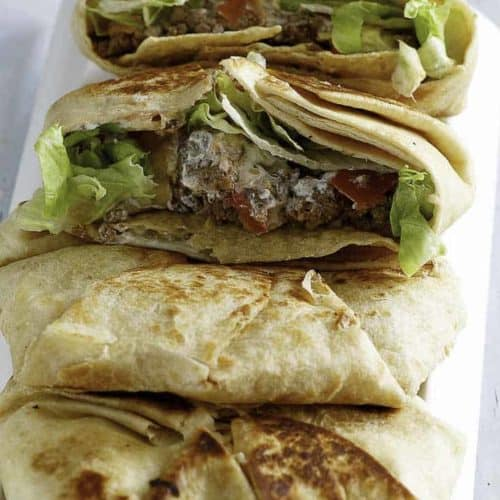 Make the famous Taco Bell Crunchwrap at home, it's so easy to recreate this much loved menu item from the Taco Bell.