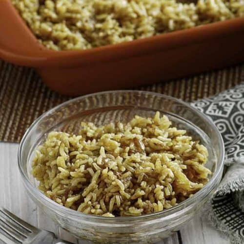 Make the rice everyone loves!! Stick of Butter Rice is so easy, and so delicious!