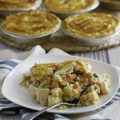 Homemade copycat KFC Chicken Pot Pies