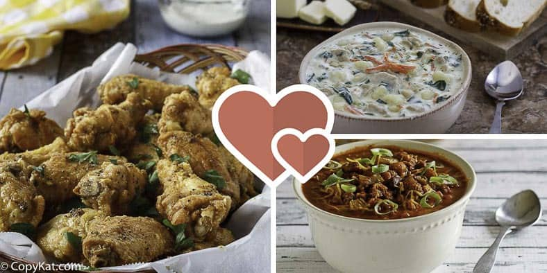 Get the most-loved recipes from CopyKat.com.   Readers voted, and these were their favorite recipes.