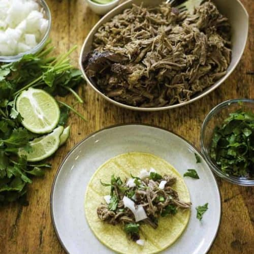 Don't miss out on this amazingly tender pork shoulder roast, it's perfect for tacos.