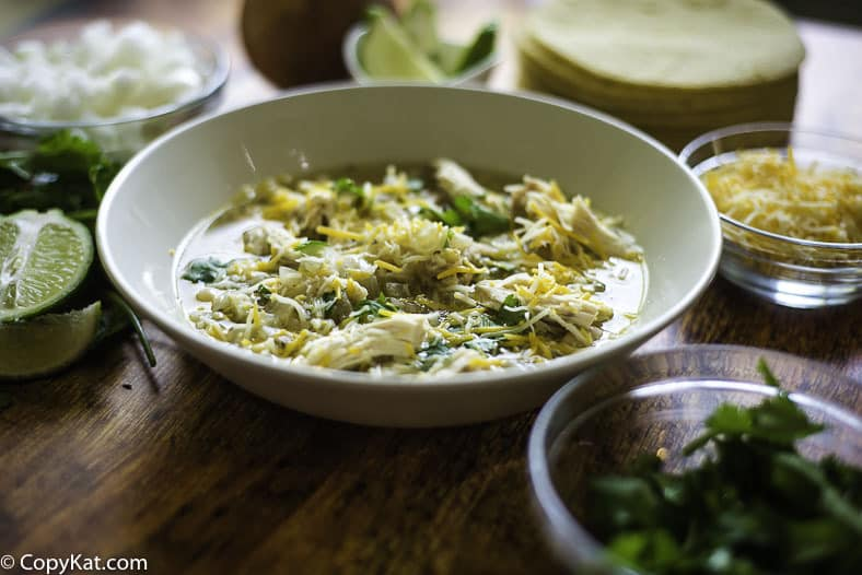 Don't miss out on this family-pleasing white bean chicken chili.