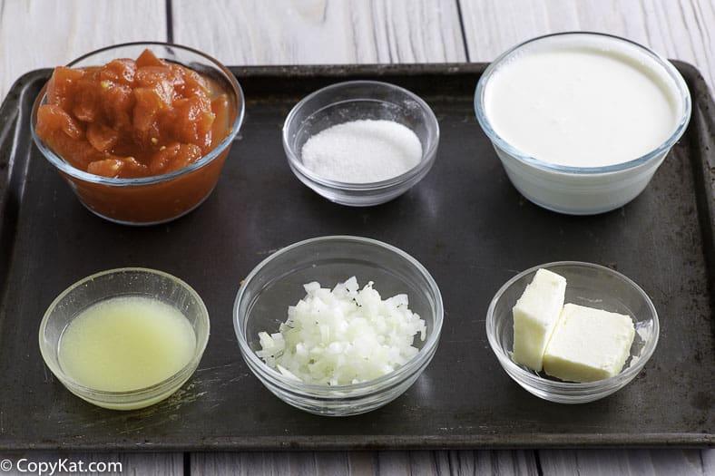 creamy tomato soup ingredients
