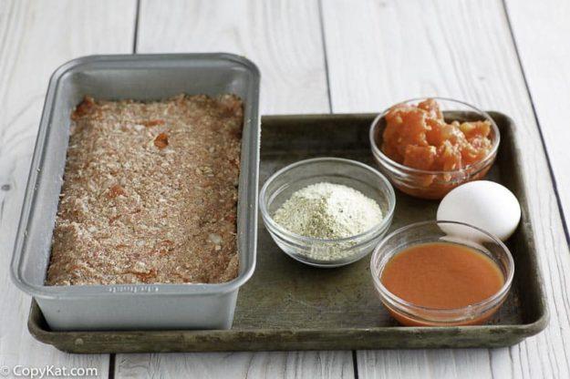 Homemade Boston Market meatloaf ingredients