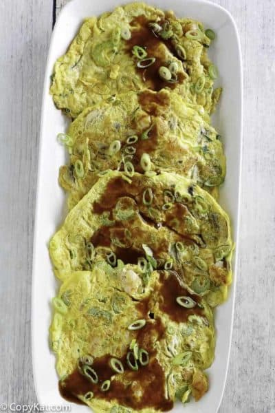Make take-out style Egg Foo Young with this easy recipe.