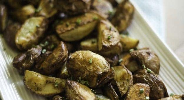 Easy Oven Roasted Red Potatoes