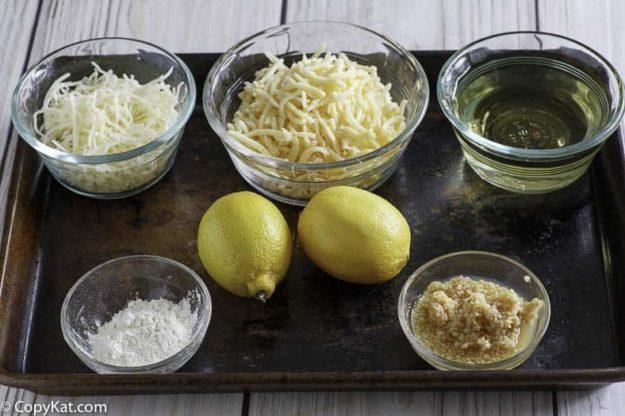 Melting Pot Swiss Fondue ingredients