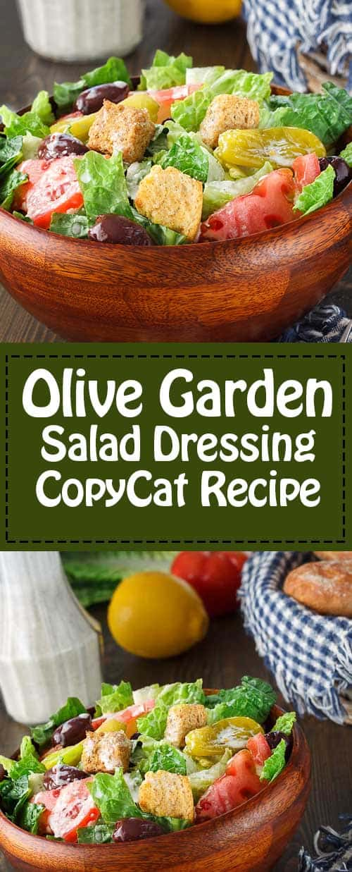 Olive garden salad dressing recipe and video - Copycat olive garden salad dressing ...