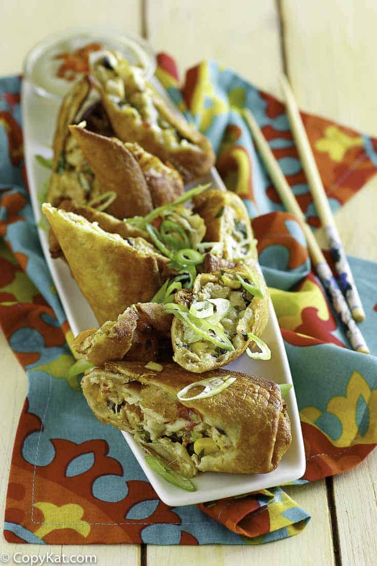 How to make healthy southwestern egg rolls