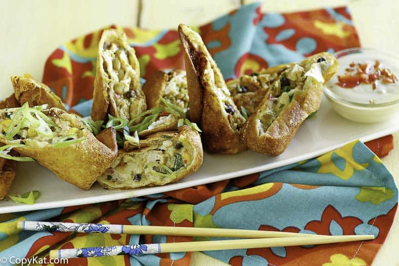 Chilis Southwest Egg Roll