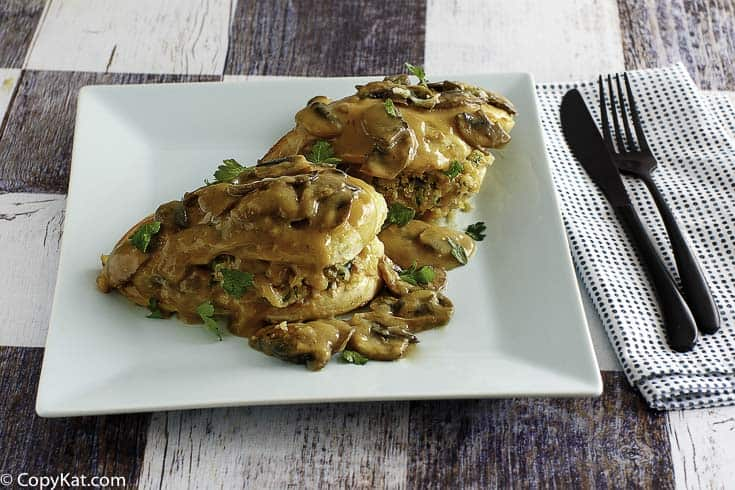 Make the Olive Garden Stuffed Chicken Marsala at home with this recipe. It's perfect for when you want to dine out at home.