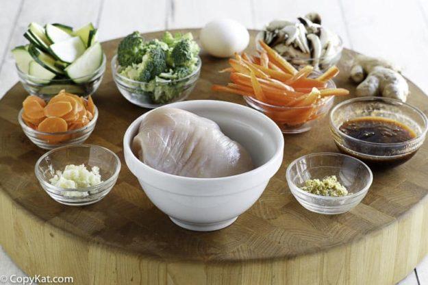 hunan chicken ingredients