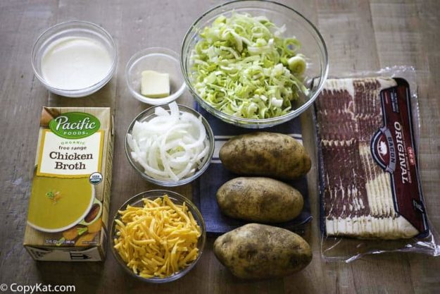 country potato soup ingredients