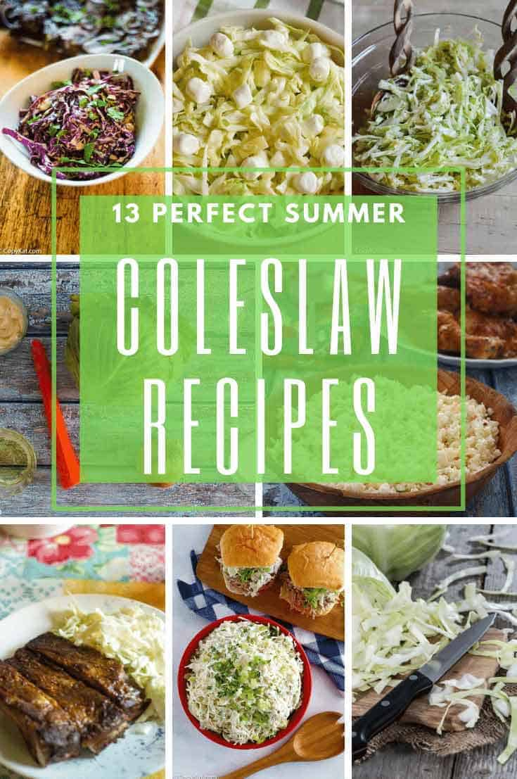 10 different coleslaw recipes for summer