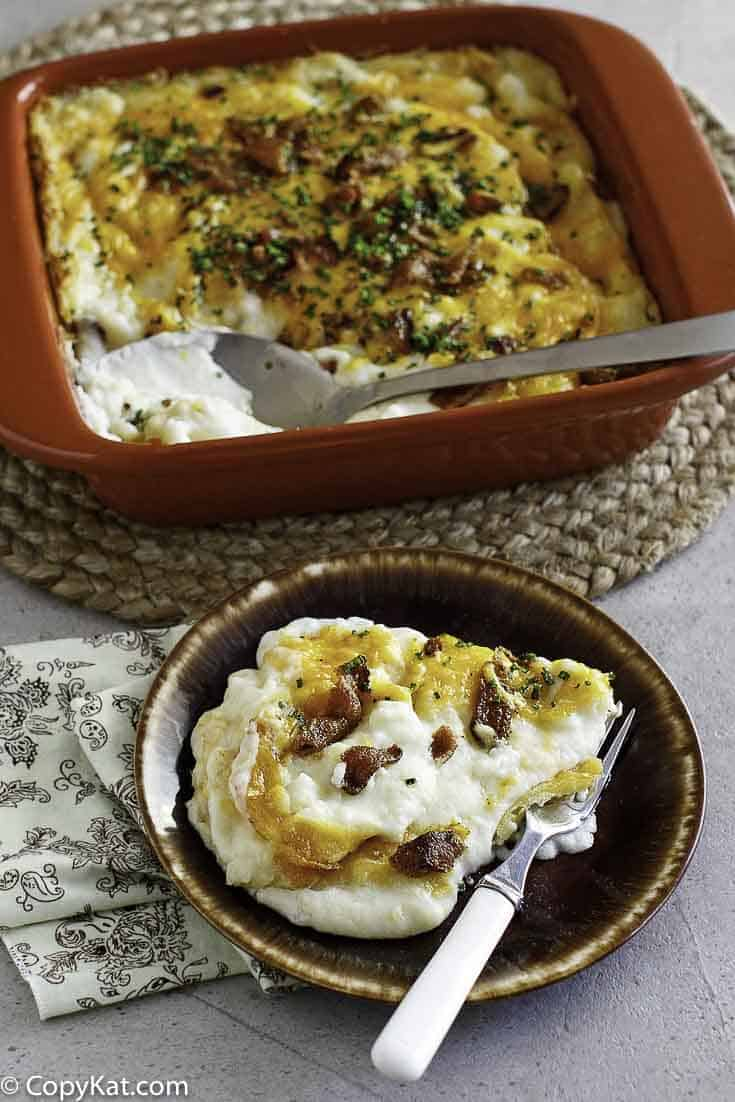 Twice Baked Potato Casserole Copykat Recipes