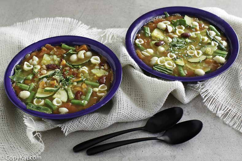 Olive Garden Minestrone Soup , CopyKat Recipes