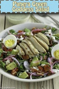 copycat panera bread green goddess salad recipe