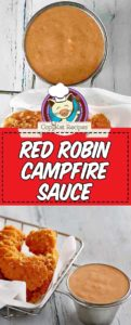 campfire sauce and chicken tenders