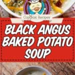 potato soup photo collage
