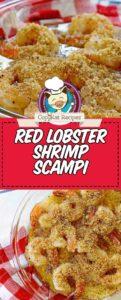 Copycat Red Lobster Shrimp Scampi