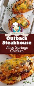 Collage of homemade copycat Outback Steakhouse Alice Springs Quesadilla photos.